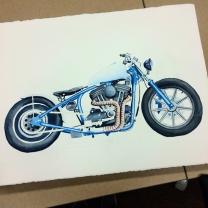Harley Watercolor