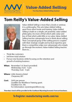 Tom Reilly Event