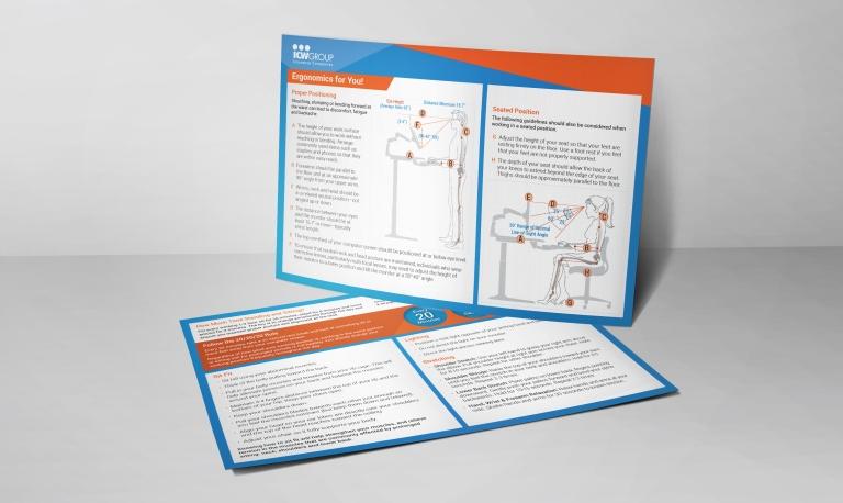 Brochure ICW Group Mockup